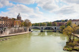 Tiber river in Rome Royalty Free Stock Photography