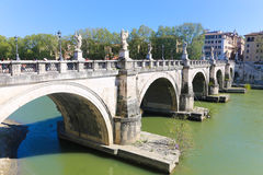 Tiber River - Rome Stock Images
