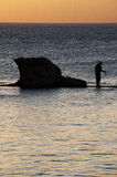 湖tiberias 免版税图库摄影