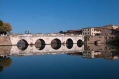 Tiberius-Brücke Stockbild