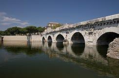 The Tiberius Bridge Royalty Free Stock Photos
