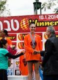 Tiberius Marathon Podium Stock Images