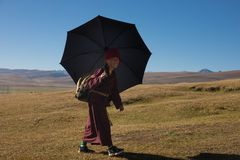 Tibet royaltyfria foton