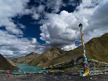 Tibet. Man La River in Tibet, China stock photography