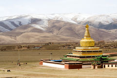 Tibet. This is the temple in tibet Royalty Free Stock Images