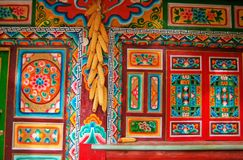 In the tibet Stock Photography