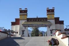 tibet fotografia stock
