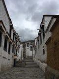 Tibetan alley stock image