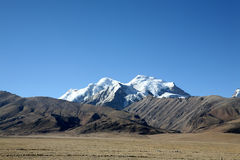 Tibet altiplano. Qingzang altiplano of tibet, China Stock Photos