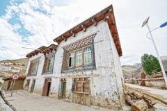 Tibet asphalt road Royalty Free Stock Photo