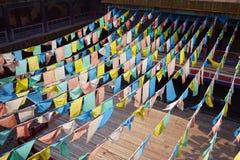 Tibet baner Royaltyfri Fotografi