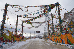 Tibet banner stock photography