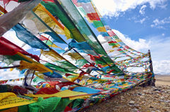 Tibet banners Stock Image