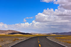 Tibet beautiful road Stock Photography