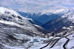 Tibet beautiful road Stock Image