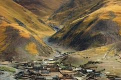 Tibet Brahmaputra Canyon Stock Image