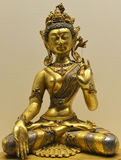 Tibet Buddha sculpture artwork Stock Images