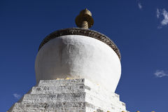 Tibet: buddhas stupa Stock Photography