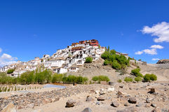 Tibet Buddhist Monastry Royalty Free Stock Photo