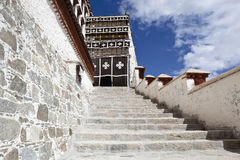 Tibet: building in potala palace Stock Photography