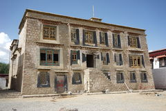 Tibet building in Samye Gompa Royalty Free Stock Image