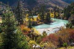 Tibet. Chinas natural scenery in Tibet royalty free stock photography
