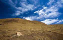 Tibet cloud mountain china Royalty Free Stock Photo