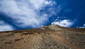 Tibet cloud mountain china Royalty Free Stock Photos