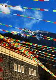 Tibet Constructs Royalty Free Stock Photo