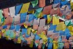 Tibet-Fahnen Lizenzfreies Stockfoto