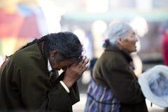 Tibet faith Stock Image