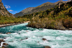Tibet flod arkivbilder