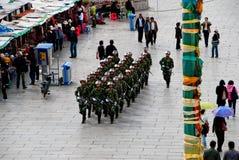Tibet force Royalty Free Stock Photo