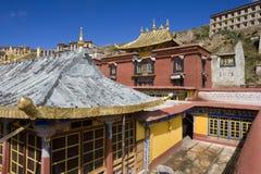 Tibet - Ganden Buddhist Monastery  Stock Images