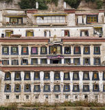 Tibet - Ganden Buddhist Monastery Royalty Free Stock Images