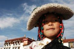 Tibet girl royalty free stock images