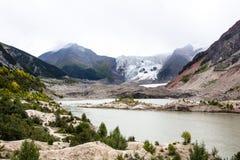 Tibet-Gletscherbilder Lizenzfreie Stockfotos