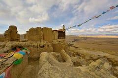 Tibet-guge Dynastienruinen Stockbild