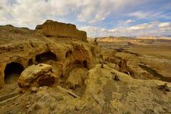 Tibet guge dynasty ruins Stock Photos