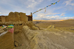 Tibet guge dynasty ruins Royalty Free Stock Images