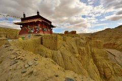 Tibet gugedynasti fördärvar royaltyfria foton