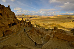 Tibet gugedynasti fördärvar Royaltyfri Fotografi