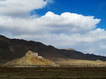 Tibet Gyantse Castle Stock Photos