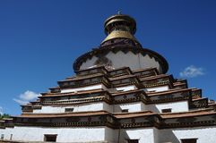 Tibet - Gyantse Kumbum Stock Photos