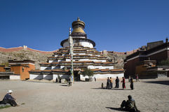 Tibet - Gyantse Kumbum Royalty Free Stock Photos