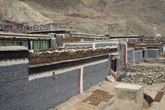 Tibet-Haus Lizenzfreie Stockfotos