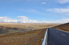 Tibet highway Stock Photography