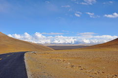 Tibet highway Royalty Free Stock Photo