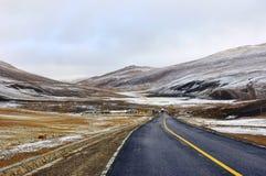Tibet highway Stock Images