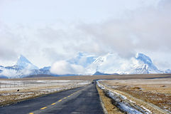 Free Tibet Highway Royalty Free Stock Images - 23104149